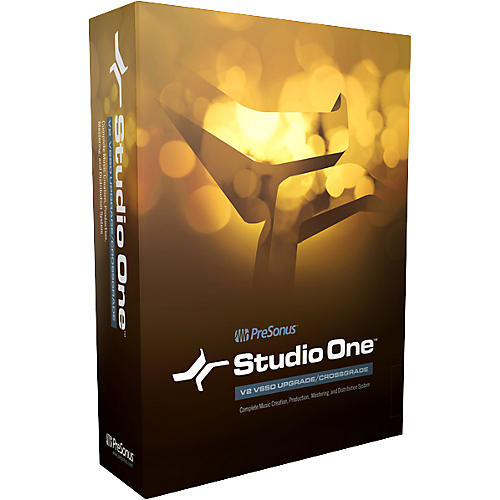 Presonus Studio One Upgrade Download Box
