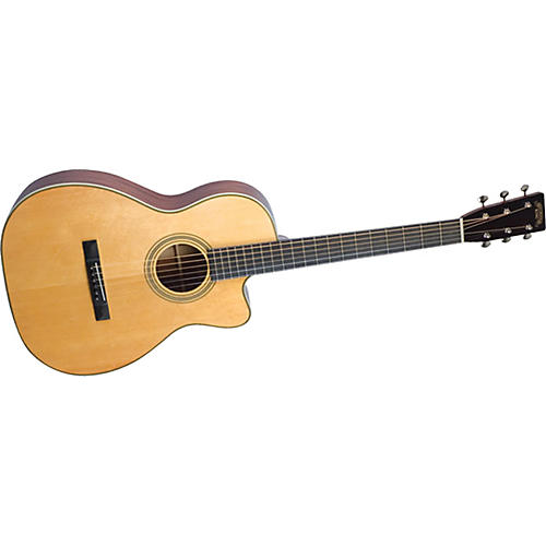Recording King Studio Series 12 Fret O Acoustic/Electric Guitar with Cutaway