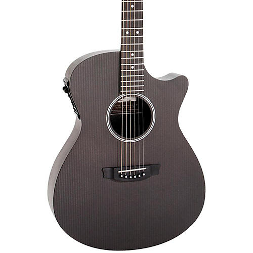 Rainsong Studio Series S-OM1000N2 Acoustic-Electric Guitar Carbon
