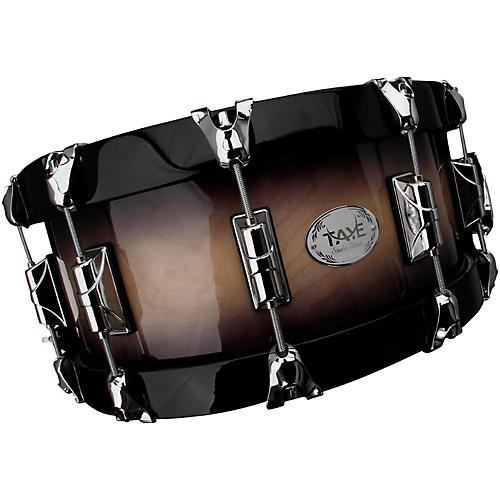 Taye Drums StudioBirch Wood Hoop Snare Drum 14 x 6 Piano Black Finish-thumbnail