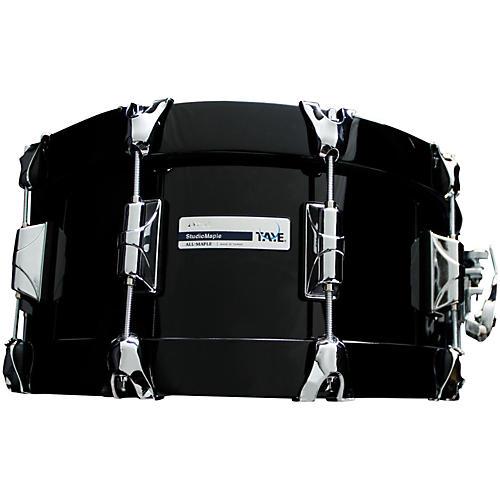 Taye Drums StudioBirch Wood Hoop Snare Drum 14 x 6 Piano Black Finish