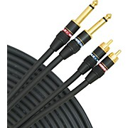 "Monster Cable StudioLink RCA to 1/4"" Interconnect Cable Pair"