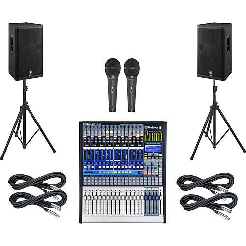 Presonus StudioLive 16.4.2 PA Package with Yamaha DSR115 Speakers