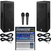 Presonus StudioLive 16.4.2 PA Package with Yamaha DSR215 Speakers