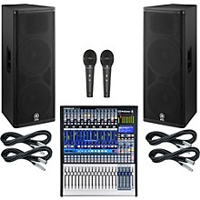 Presonus StudioLive 16.4.2 PA Package with Yamaha DSR215 Speakers