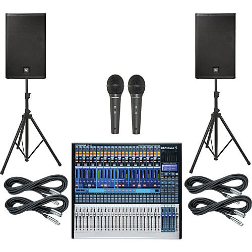 PreSonus StudioLive 24.4.2 PA Package with 15