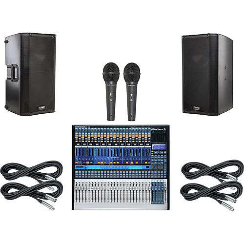 Presonus StudioLive 24.4.2 PA Package with QSC K12 Speakers