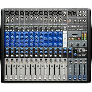 Presonus StudioLive AR16 18-channel Hybrid Digital Analog Performance Mixer by Presonus