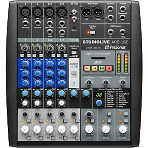 Presonus StudioLive AR8 8-Channel Hybrid Digital Analog Performance Mixer by Presonus