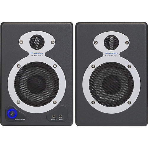 M-Audio StudioPro 3 Desktop Audio Monitors-thumbnail