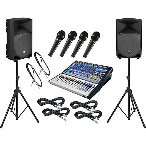 Presonus Studiolive 16.0.2 / Mackie Thump TH-12A PA Package-thumbnail