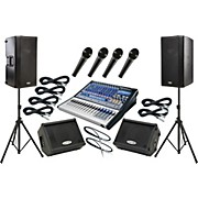 Presonus Studiolive 16.0.2 / QSC K12 Mains and Monitors Package