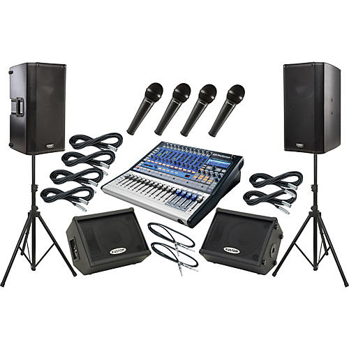 PreSonus Studiolive 16.0.2 / QSC K12 Mains and Monitors Package-thumbnail