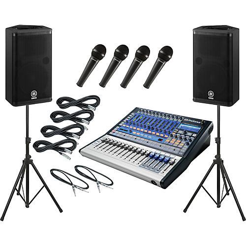 Presonus Studiolive 16.0.2 / Yamaha DSR112 PA Package