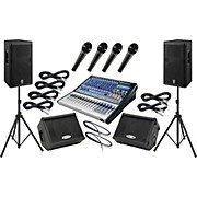 PreSonus Studiolive 16.0.2 / Yamaha DSR115 Mains and Monitors Package