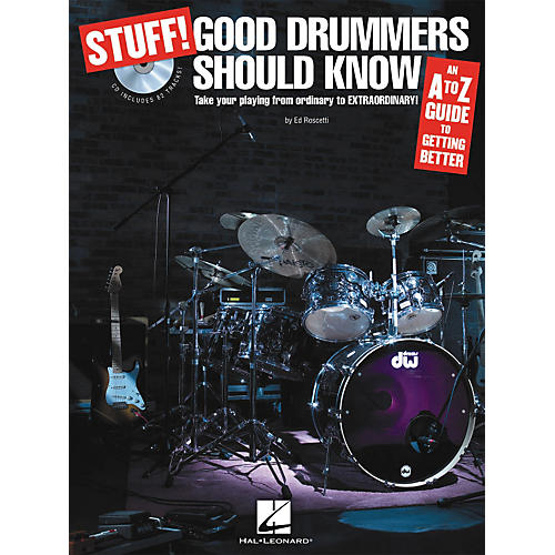 Hal Leonard Stuff! Good Drummers Should Know (Book/CD)-thumbnail