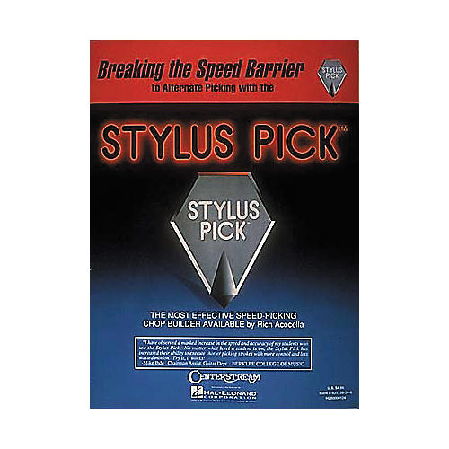 Hal Leonard Stylus Pick - Breaking The Speed Barrier
