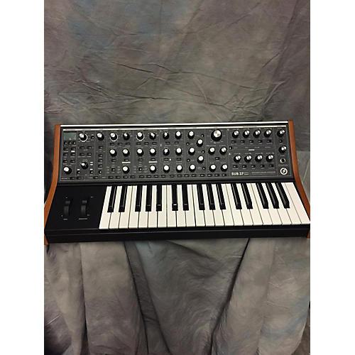 Moog Sub 37 Brown\White Synthesizer