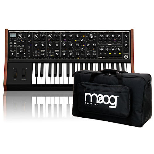 Moog Sub 37 Tribute Edition with Gig Bag and Warranty-thumbnail