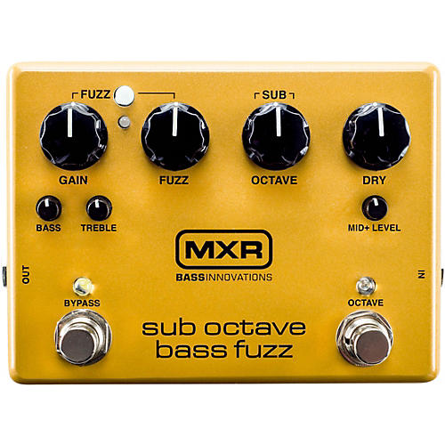MXR Sub Octave Bass Fuzz Pedal-thumbnail