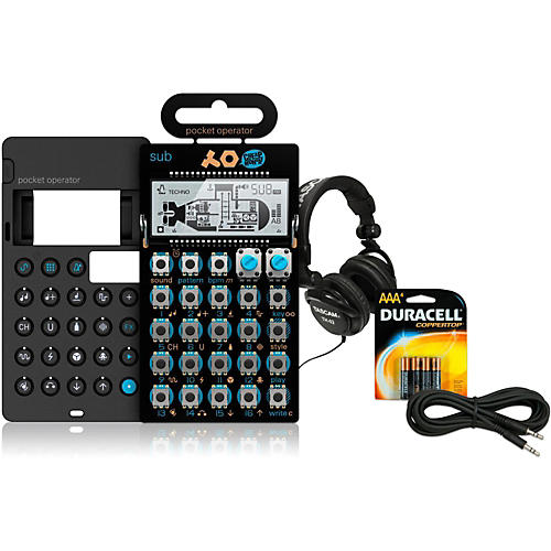 Teenage Engineering Sub Pocket Operator with Case, Batteries, Headphones and Cable-thumbnail