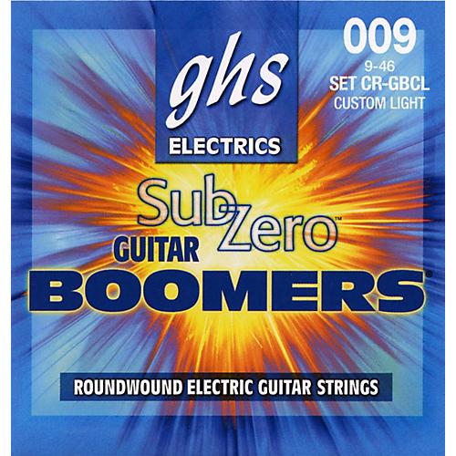 GHS Sub Zero Guitar Boomers Custom Light