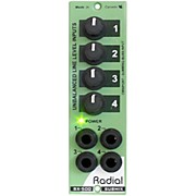 Radial Engineering SubMix 4x1 Line Mixer