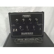 Mesa Boogie Subway Bass DI Bass Preamp
