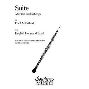 Southern Suite After Old English Songs English Horn Southern Music Series... by Southern