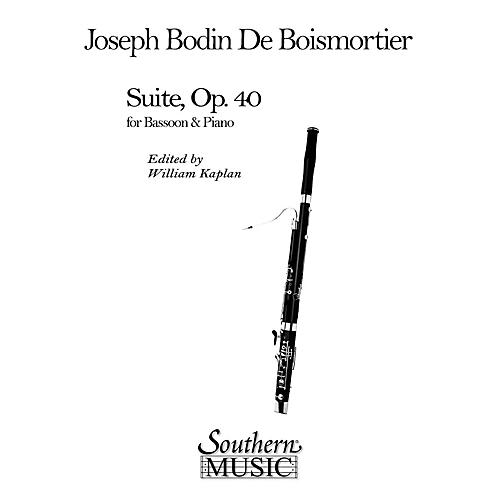 Southern Suite (Bassoon) Southern Music Series Arranged by William Kaplan