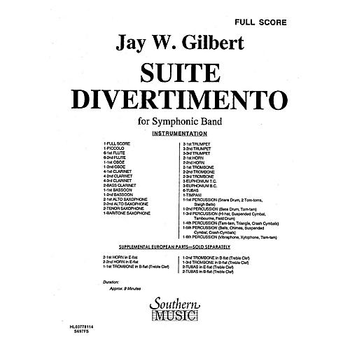 Southern Suite Divertimento (Band/Concert Band Music) Concert Band Level 4 Composed by Jay W. Gilbert