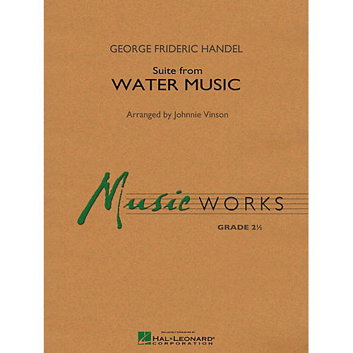 Hal Leonard Suite From Water Music Concert Band Level 2-thumbnail