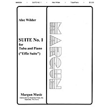 Margun Music Suite No. 1 (Effie) (Tuba in C (B.C.) and Piano) Shawnee Press Series