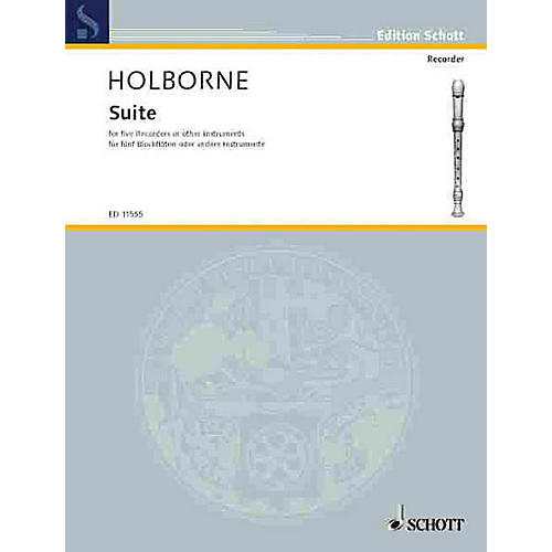 Schott Suite (Performance Score) Schott Series by Anthony Holborne