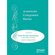 Rubank Publications Suite for Alto Saxophone (Grade 4) Rubank Solo/Ensemble Sheet Series