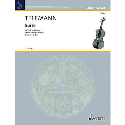 Schott Suite in D Major Schott Series Composed by Georg Philipp Telemann Arranged by Walter Bergmann