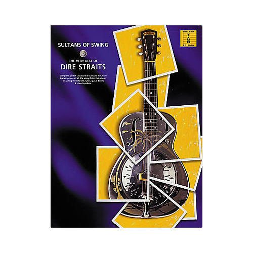 Hal Leonard Sultans of Swing The Very Best of Dire Straits Guitar Tab Songbook-thumbnail