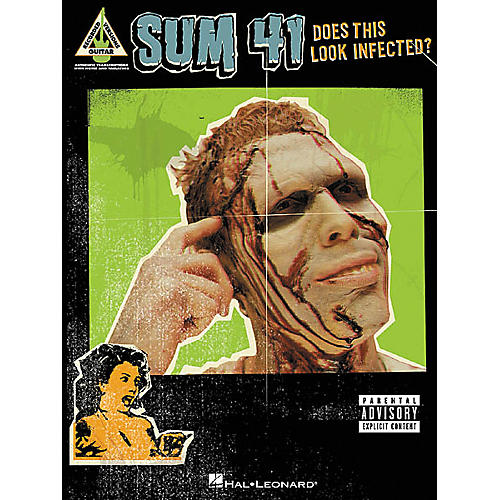 Hal Leonard Sum 41 Does This Look Infected? Guitar Tab Songbook-thumbnail