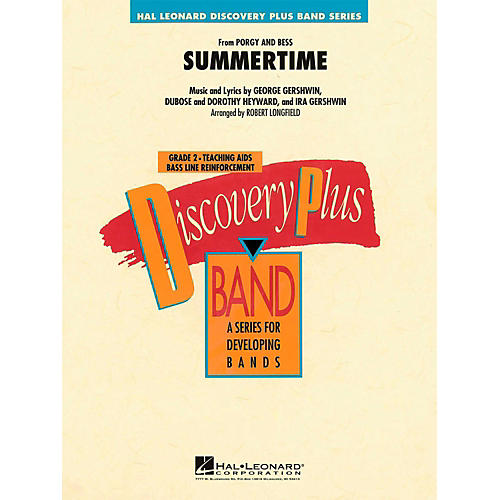 Hal Leonard Summertime (From Porgy and Bess)  - Discovery Plus Concert Band Level 2