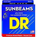 DR Strings Sunbeams NMLR-45 Medium Light 4-String Bass Strings-thumbnail