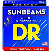 DR Strings Sunbeams NMLR-45 Medium Light 4-String Bass Strings