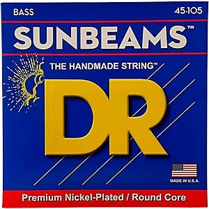 DR Strings Sunbeams NMR-45 Medium 4 String Bass Strings by DR Strings