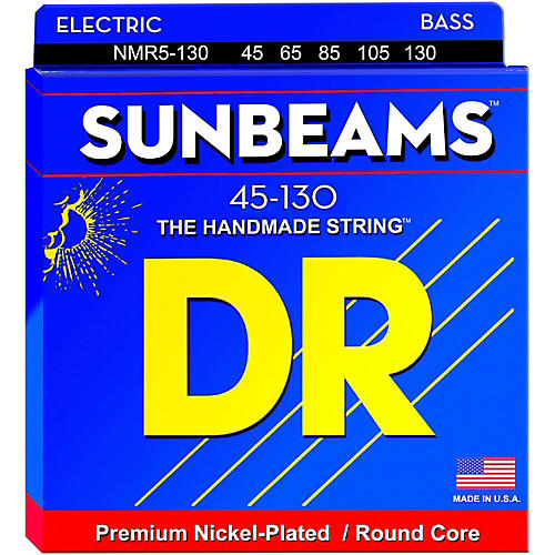 DR Strings Sunbeams NMR5-130 Medium 5-String Bass Strings .130 Low B-thumbnail