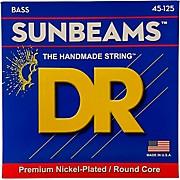 Sunbeams NMR5-45 Medium 5-String Bass Strings .125 Low B