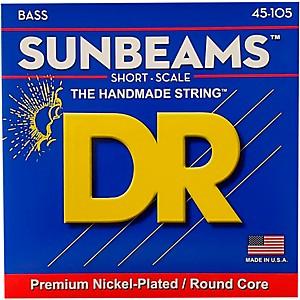 DR Strings Sunbeams SNMR-45 Medium Short Scale 4 String Bass Strings by DR Strings