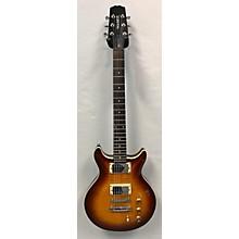 Hamer Sunburst Flametop Solid Body Electric Guitar