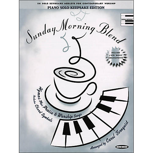 Word Music Sunday Morning Blend Keepsake Edition arranged for piano, vocal, and guitar (P/V/G)