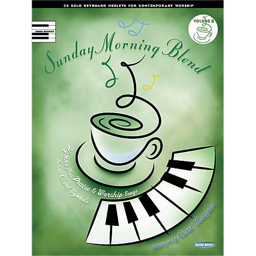 Hal Leonard Sunday Morning Blend, Vol 5 25 Solo Kybd Medleys For Contemporary Worship for Upper Inter Piano-thumbnail