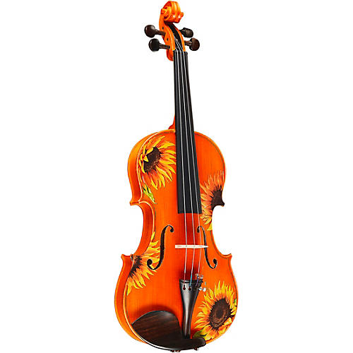 Rozanna's Violins Sunflower Delight Series Violin Outfit 3/4 Size