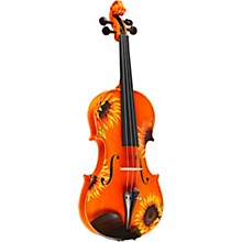 Rozanna's Violins Sunflower Delight Series Violin Outfit Level 1 1/4 Size